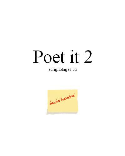 Poet-it 2
